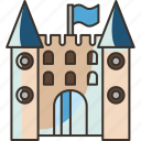 castle, tower, play, childhood, recreation