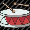 drum, snare, instrument, beat, sound