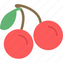 cherry, drink, food, grocery, kitchen, restaurant icon