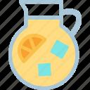 drink, food, grocery, kitchen, lemonade, restaurant icon