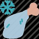 drink, food, frozen, grocery, kitchen, meat, restaurant icon