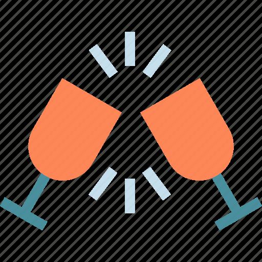 drink, food, glasstoast, grocery, kitchen, restaurant icon