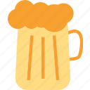 bearglass, drink, food, grocery, kitchen, restaurant icon