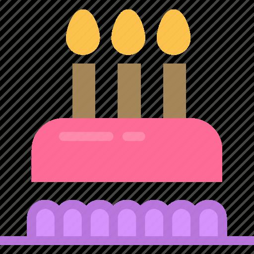 birthday, cake, drink, food, grocery, kitchen, restaurant icon