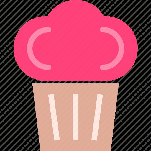 cupcake, dessert, drink, food, grocery, kitchen, restaurant icon