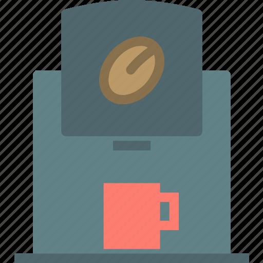 drink, esspreso, food, grocery, kitchen, machine, restaurant icon