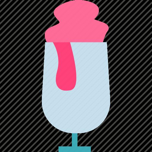 creamglass, drink, food, grocery, kitchen, restaurant icon