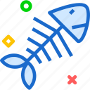 bone, drink, fish, food, grocery, kitchen, restaurant icon