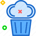 cupcake, dessert, drink, food, grocery, kitchen, restaurant icon