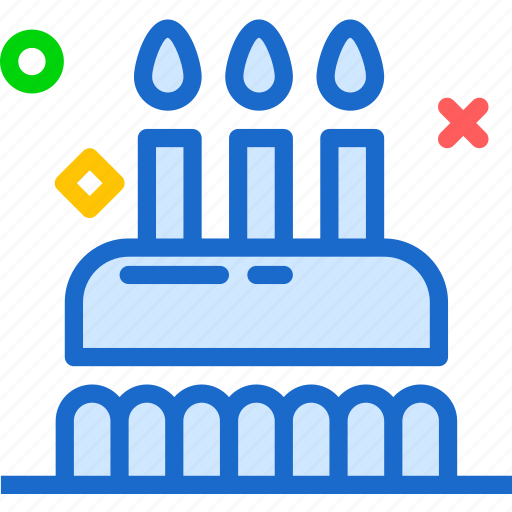 birthday, cake, drink, food, grocery, kitchen, restaurant icon