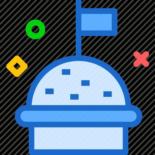 cupcake, drink, flag, food, grocery, kitchen, restaurant icon