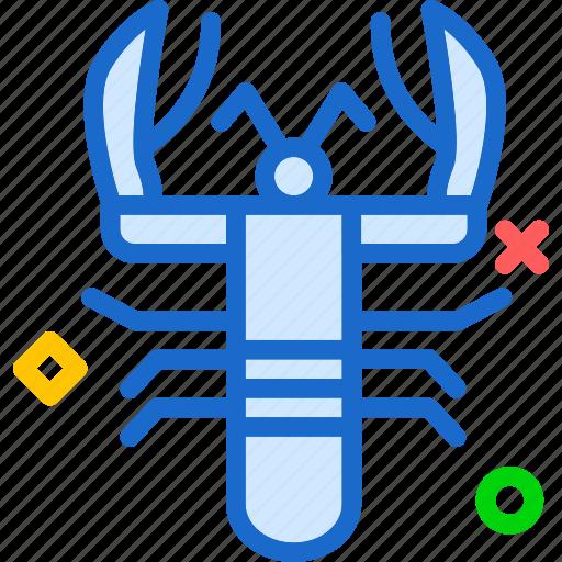 crablobster, drink, food, grocery, kitchen, restaurant icon