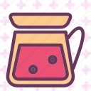 drink, food, grocery, kitchen, lemonadejar, restaurant icon