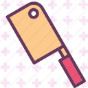 butcher, drink, food, grocery, kitchen, knife, restaurant icon