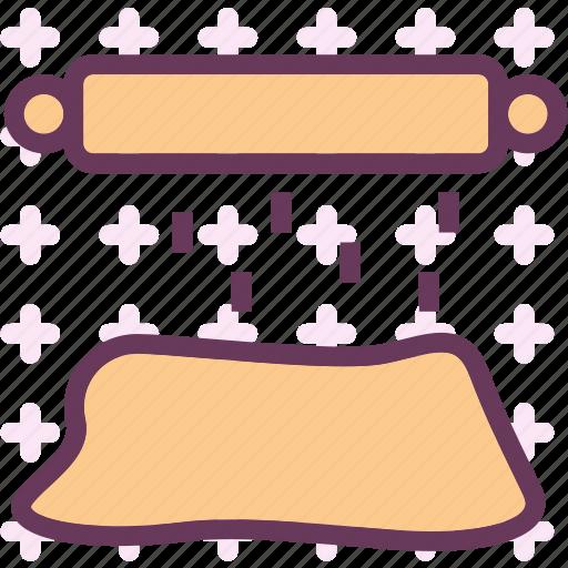 doughroller, drink, food, grocery, kitchen, restaurant icon