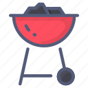 barbecuebbq, charcoal, grill, kitchen icon
