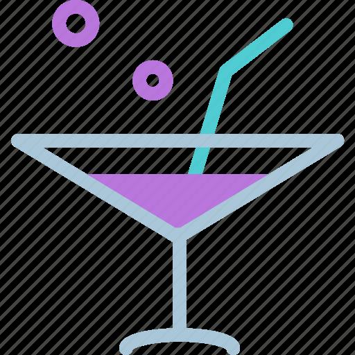 drink, food, grocery, kitchen, martiniglass, restaurant icon