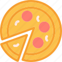 drink, food, grocery, kitchen, pizzaslice, restaurant icon
