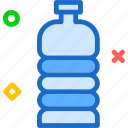 drink, food, grocery, kitchen, restaurant, waterbottle icon
