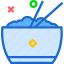 drink, food, grocery, kitchen, restaurant, ricebowl icon