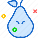 drink, food, grocery, kitchen, pear, restaurant icon