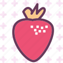 drink, food, grocery, kitchen, restaurant, strawberry icon