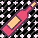 bottle, drink, food, grocery, kitchen, restaurant, wine icon