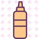 drink, food, grocery, kitchen, mustard, restaurant icon