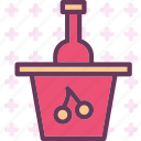 drink, food, grape, grocery, kitchen, restaurant, wine icon