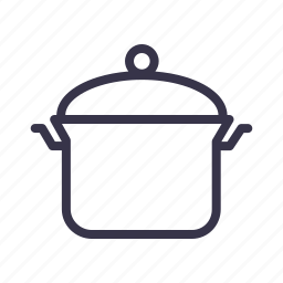 boil, cook, cooking, kitchen, pan, pot, tool icon