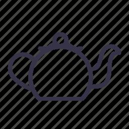 kettle, kitchen, pot, teakettle, teamaker, teapot, utensil icon