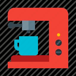 beverage, coffee, cup, drink, hot, maker, mug icon