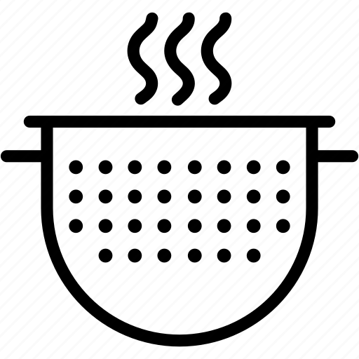 colander, cooking, kitchen, restaurant icon