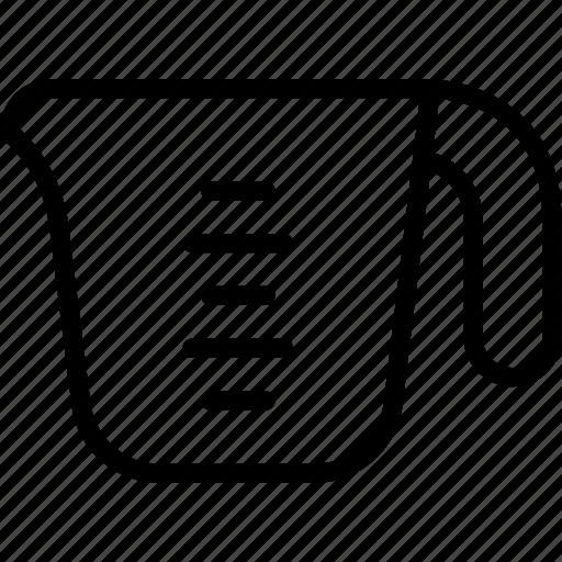 beverage, cup, drink, measuring, mug icon