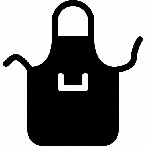 apparel, apron, clothing, dress, protect icon
