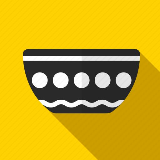 bowl, dish, kitchen, utensil icon