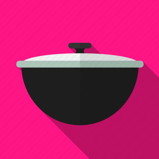 food, kitchen, pan, prepare, utensil icon