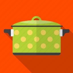 food, kitchen, pan, prepare, soup icon