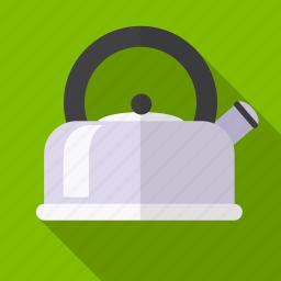 boil water, kettle, kitchen, tea icon