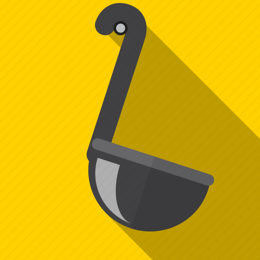cook, kitchen, ladle, soup, utensil icon