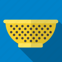 colander, kitchen, tool, utensil icon