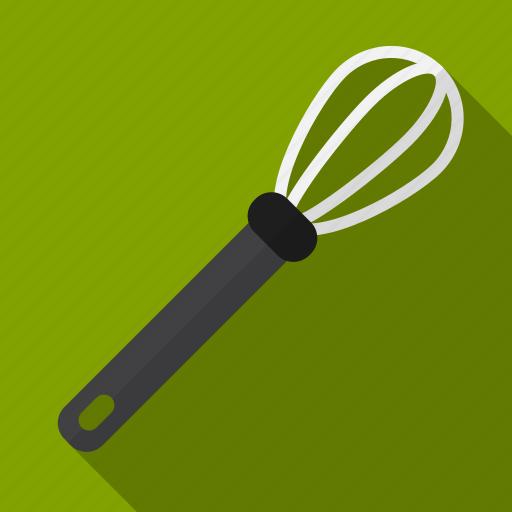 cream, egg, food, kitchen, tool, utensil, whisk icon