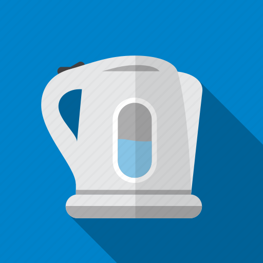 boil, electric, hot, kettle, tea, water icon
