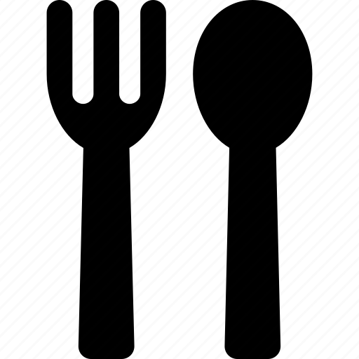 cutlery, eating, fork, set, spoon, utensil icon