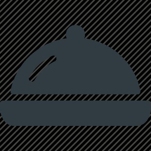 Cloche, food, kitchen, restaurant icon - Download on Iconfinder