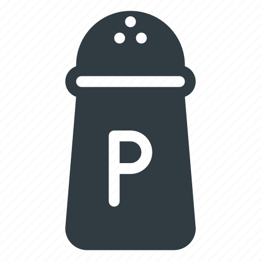 Caster, kitchen, pepper, pot icon - Download on Iconfinder
