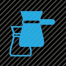 cazve, coffe, dish, kitchen icon
