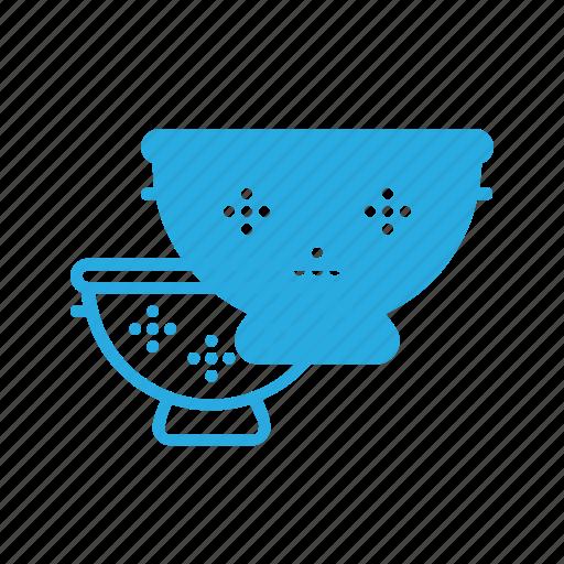 filter, kitchen, pasta, sieve icon