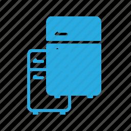 cold, freeze, fridge, kitchen, refregirator icon