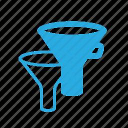 filter, funel, kitchen icon